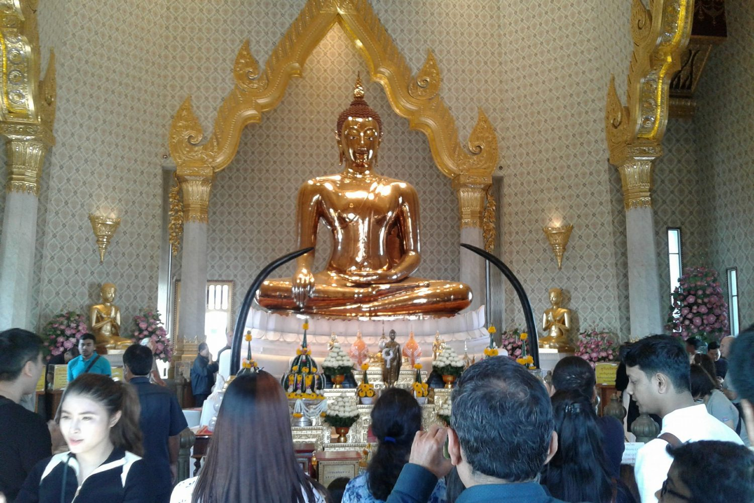 Golden Buddha Temple Bangkok