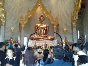 Golden Buddha Temple Bangkok