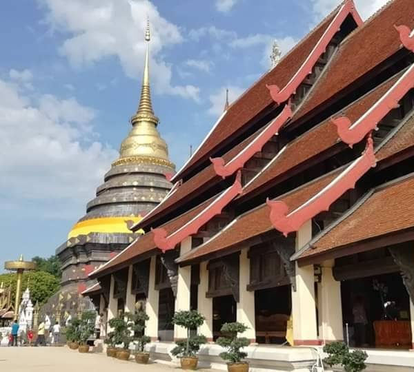 Wat Phrathat lampang Luang @ Lampang