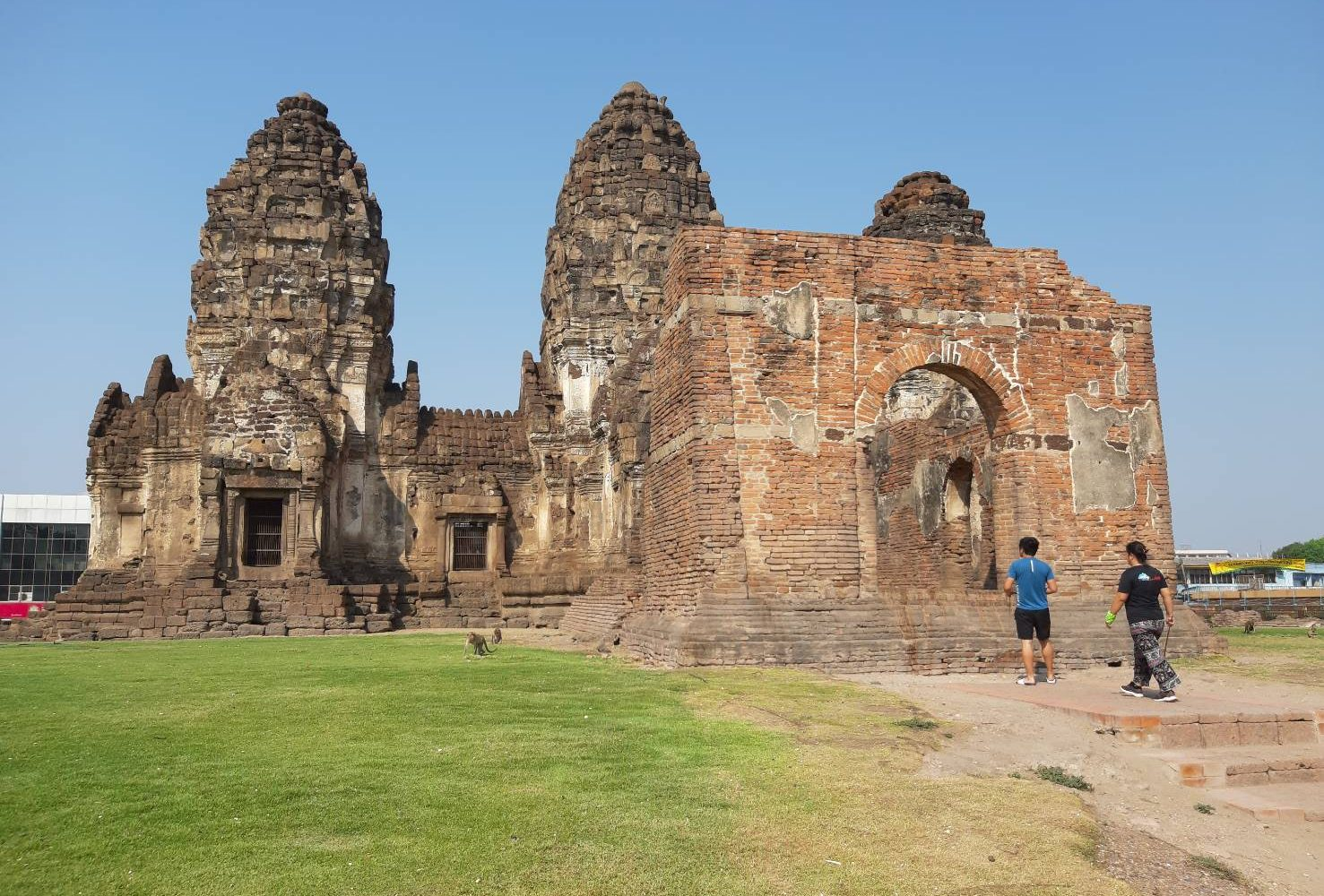 Phra Phrang Sam Yot at Lopburi