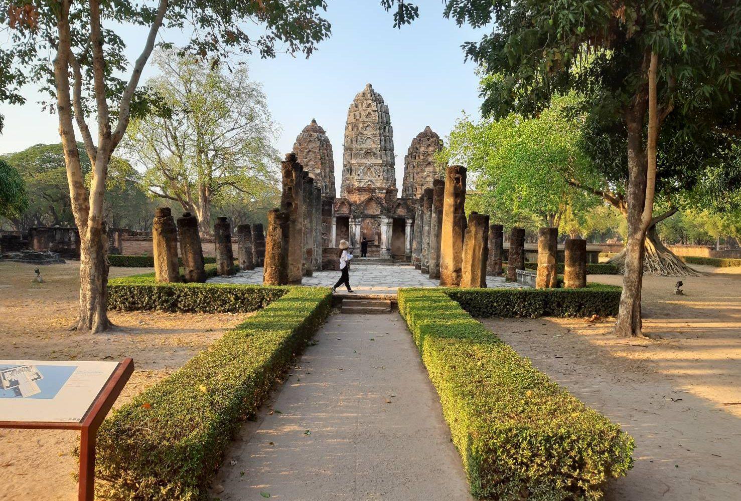 Sukhothai Historical Park @Sukhothai