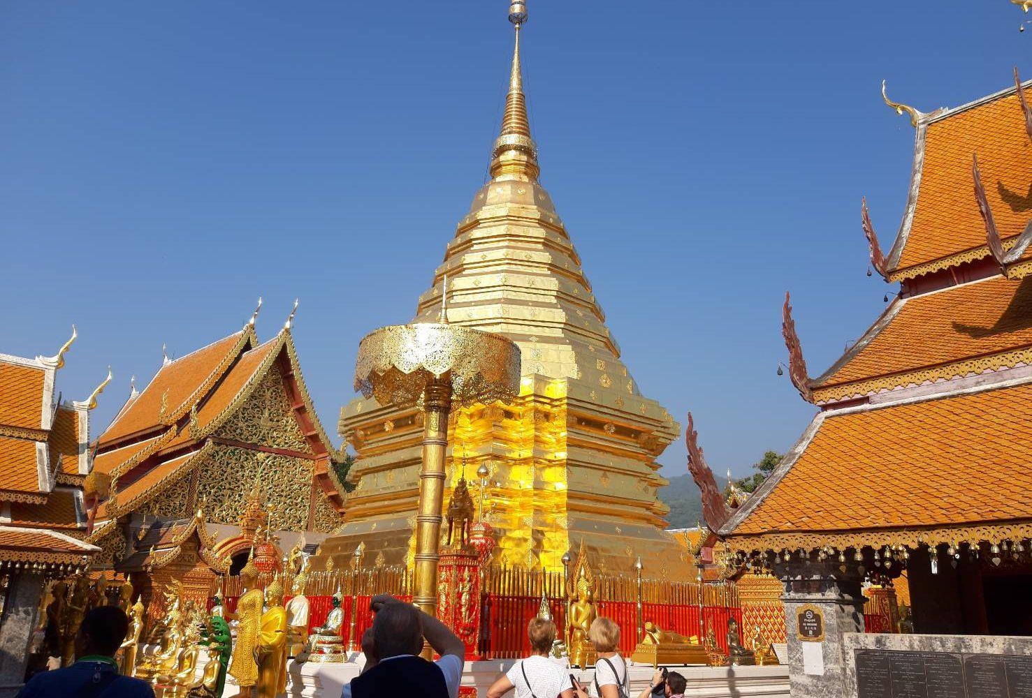 WatPhrathat Doisuthep Chiang Mai