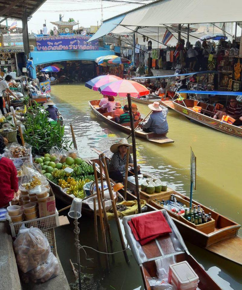 Damnoen Saduak Floating Market @ Ratchaburi