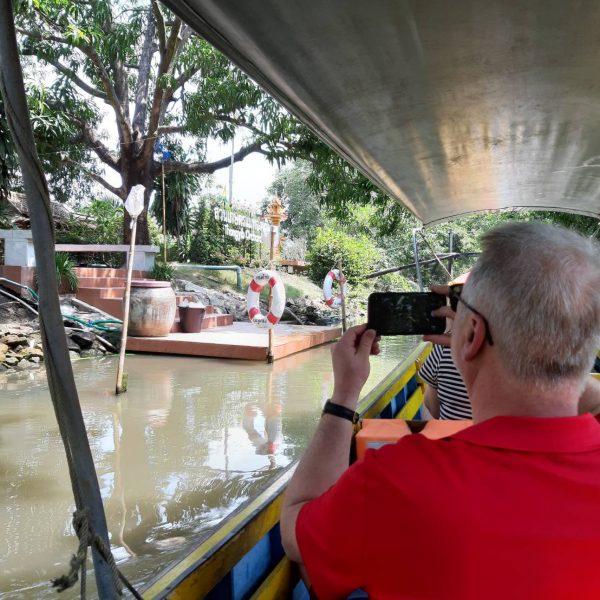 Canal Tour @ Damnoen Saduak Floating Market