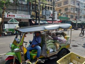 Tuk Tuk at Flower Market