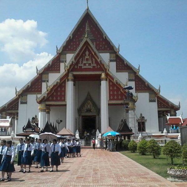 ViharnPhraMongKolBorPit Ayutthaya