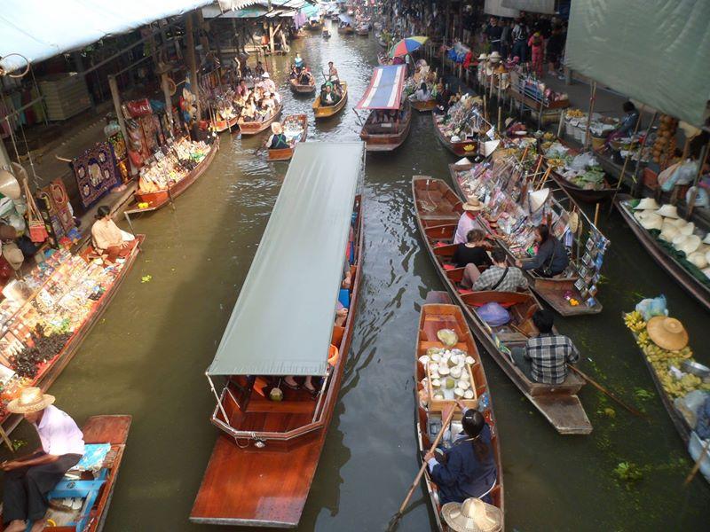 DamnoenSaduak Floating Market @ Ratchaburi