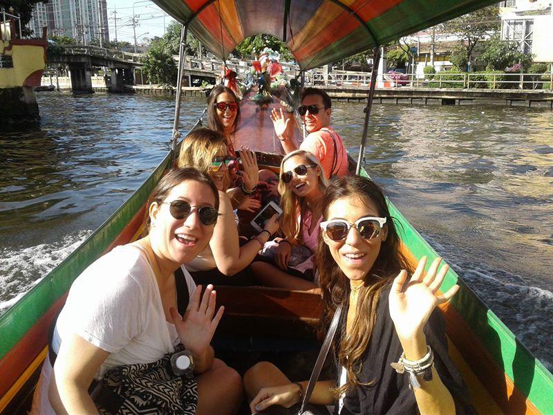 Canal Of Bangkok