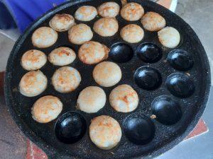 Coconut-Rice Pancake